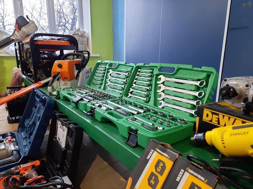 нові будівельні інструменти у Зайцівській ВЦА