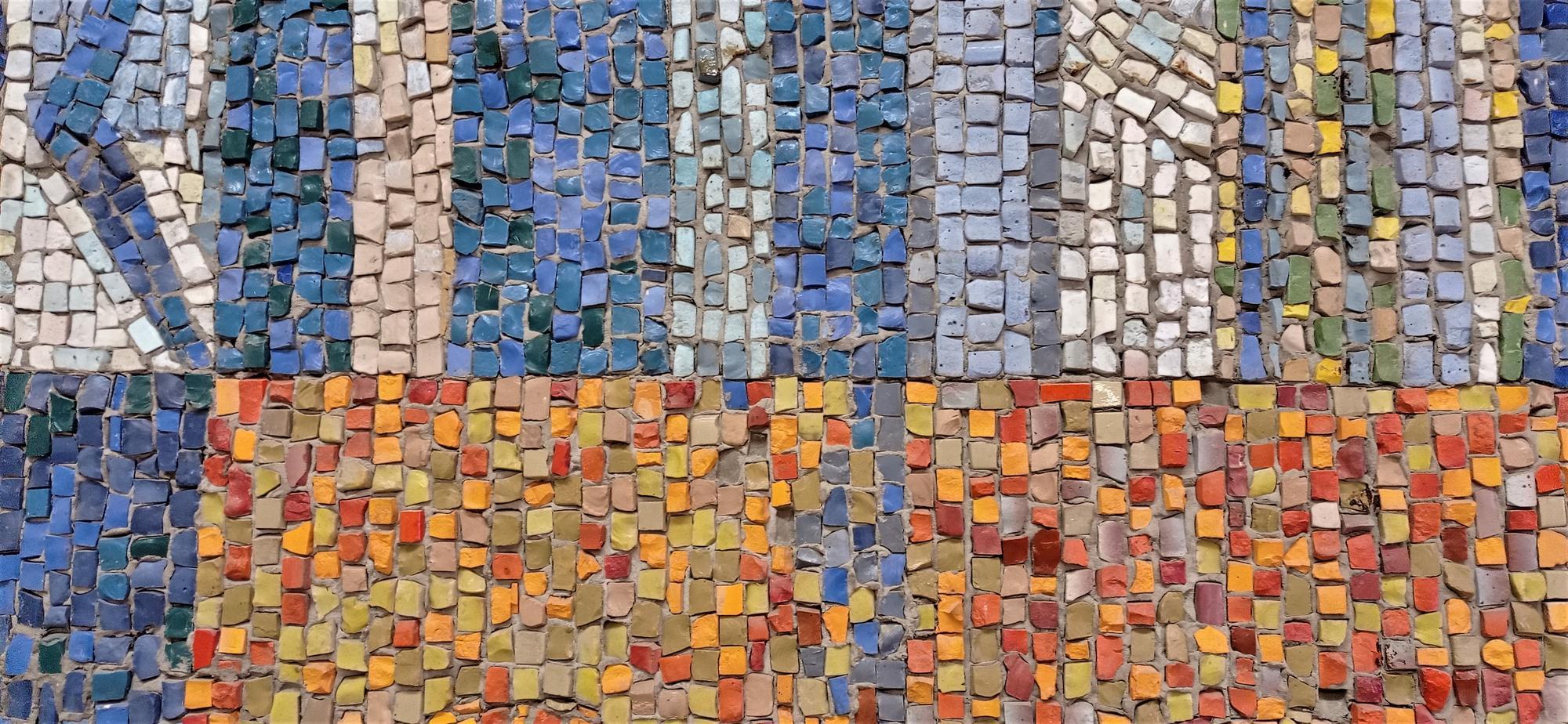 фрагмент мозаїки у Світлодарську