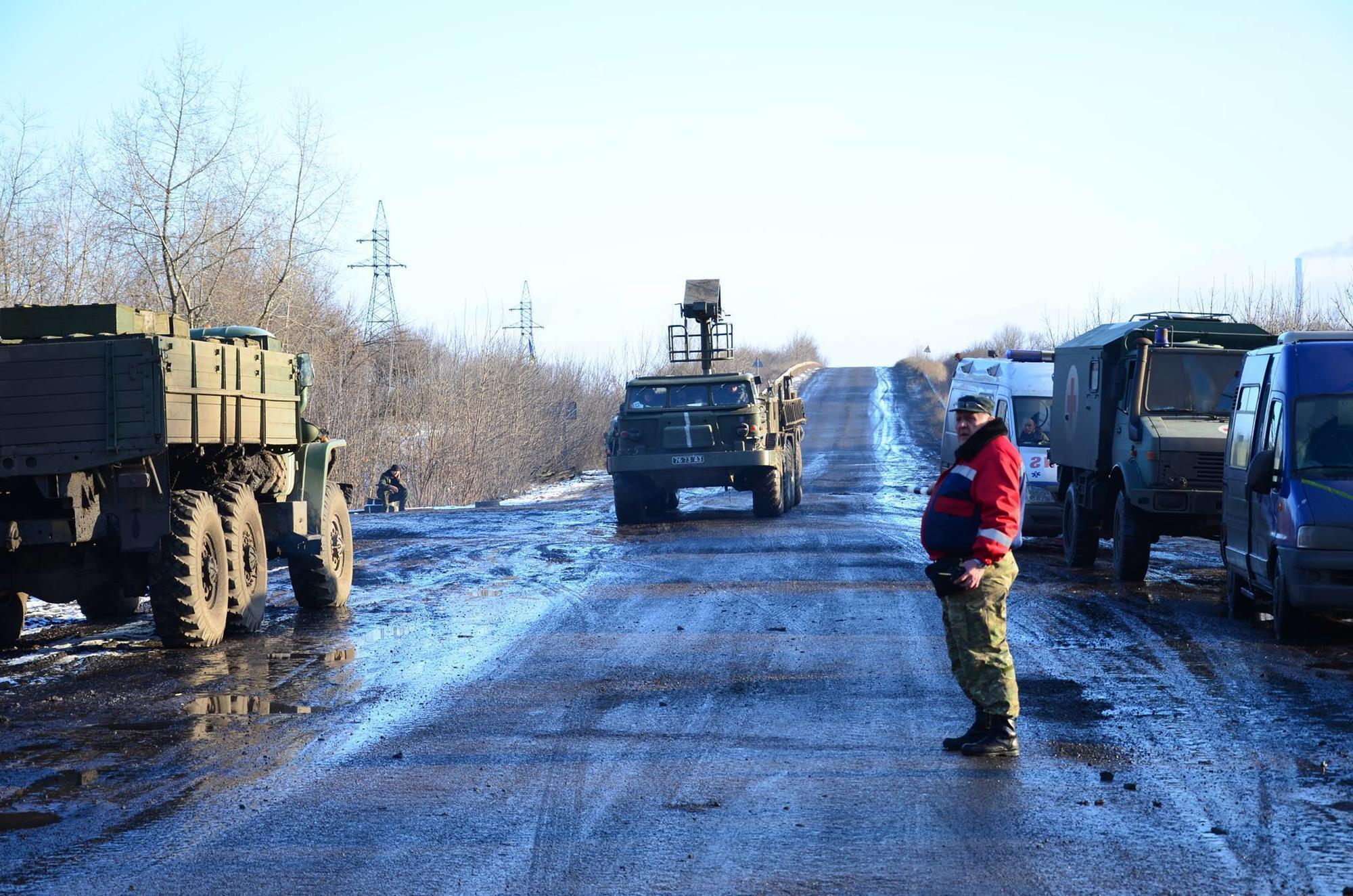 Ігор Ільків на трасі на Донбасі