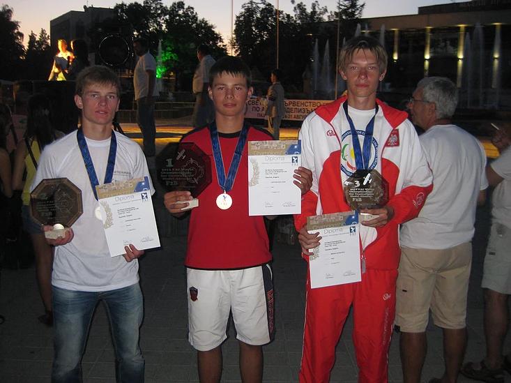 Павло Кононенко, срібний призер чемпіонату світу з авіамодельного спорту зі Слов'янська