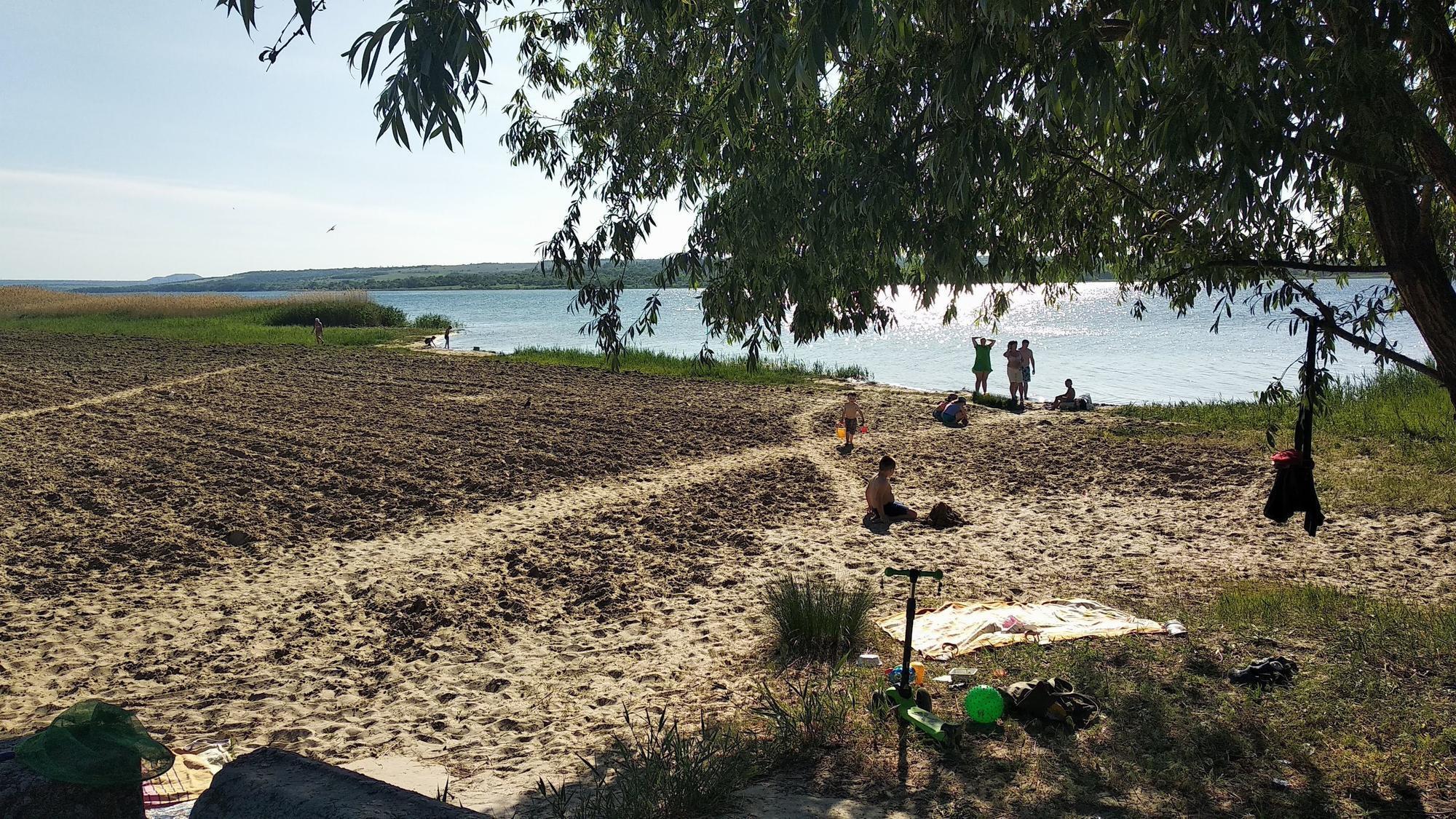 пляж у Світлодарську
