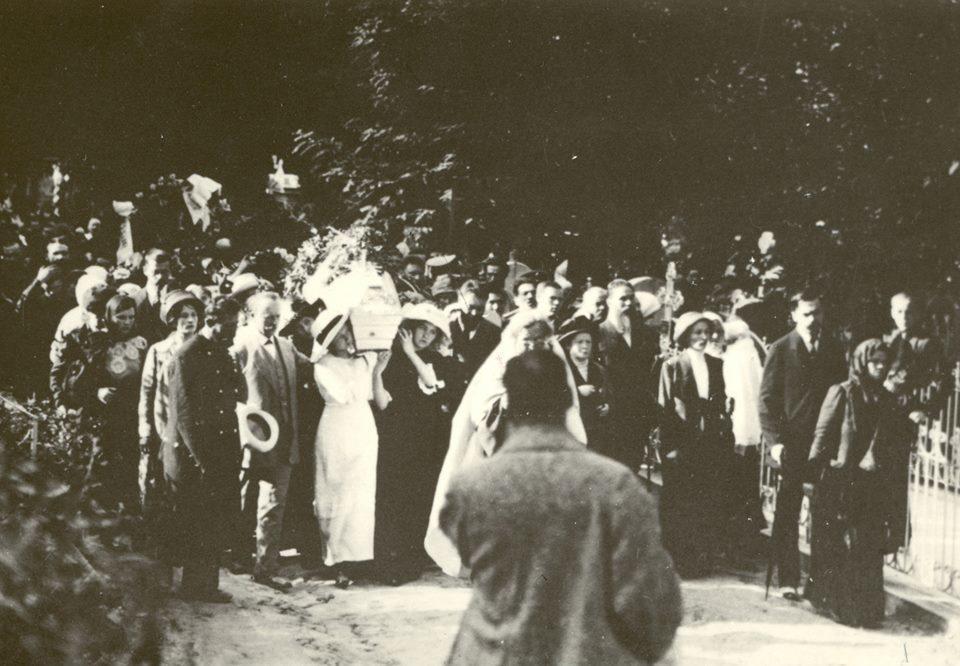 похорон Лесі Українки на Байковому кладовищі