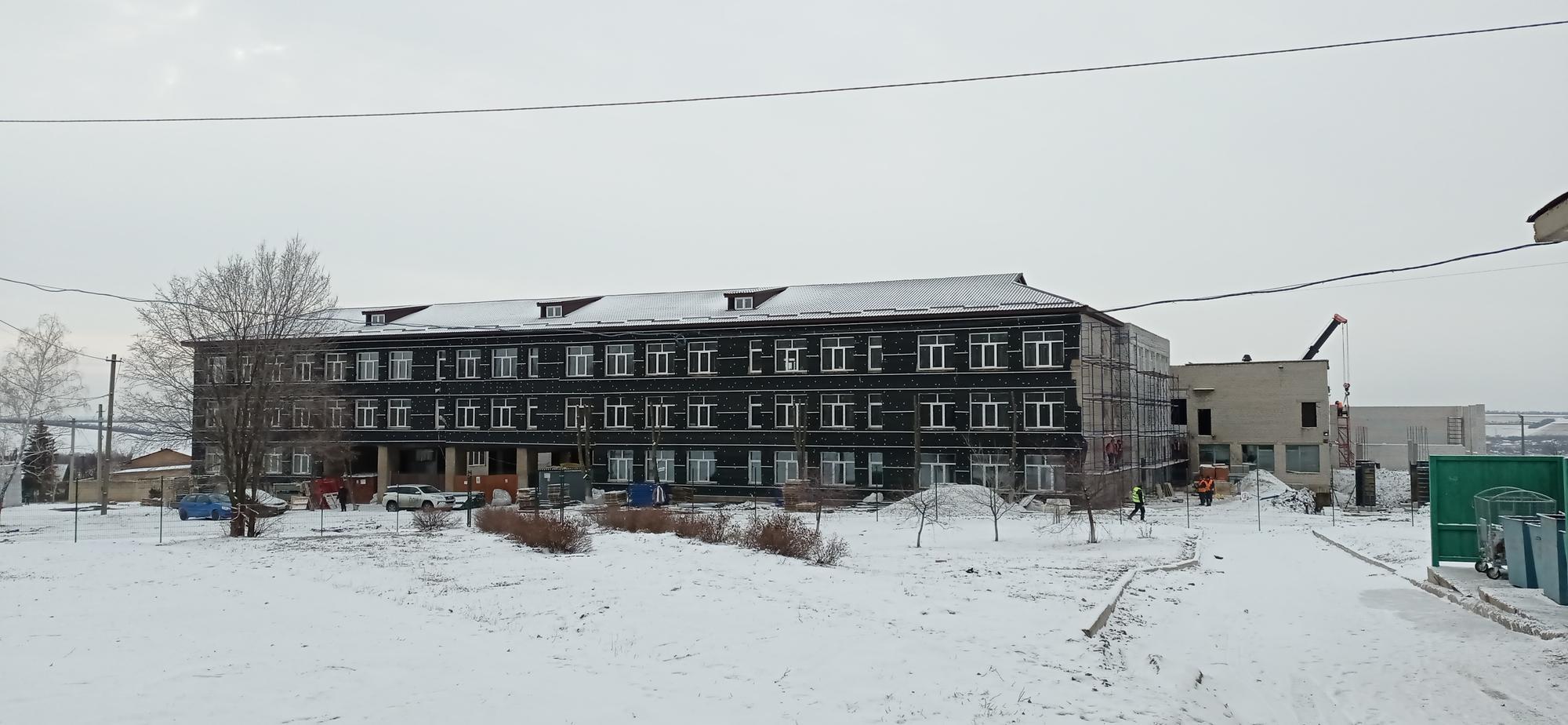 реконструкція ЗОШ 13 в Соледарі