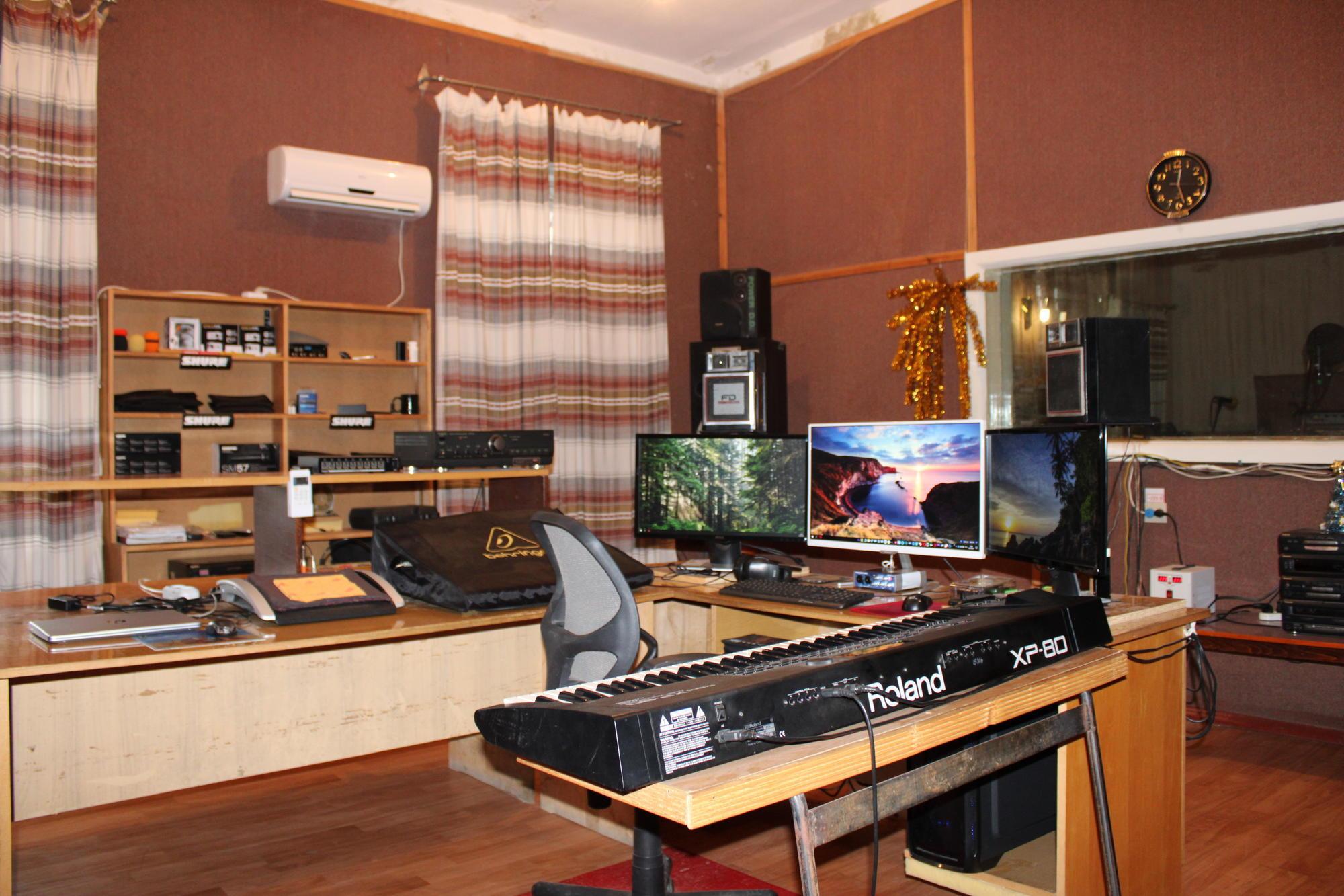 студія звукозапису у Світлодарському палаці культури
