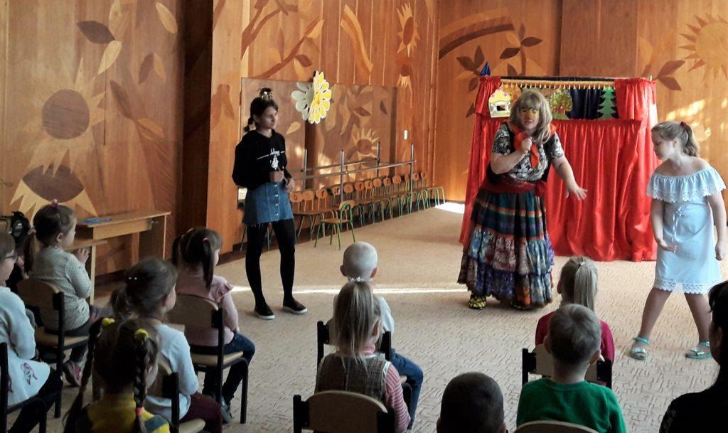 кукольный театр в Светлодарске