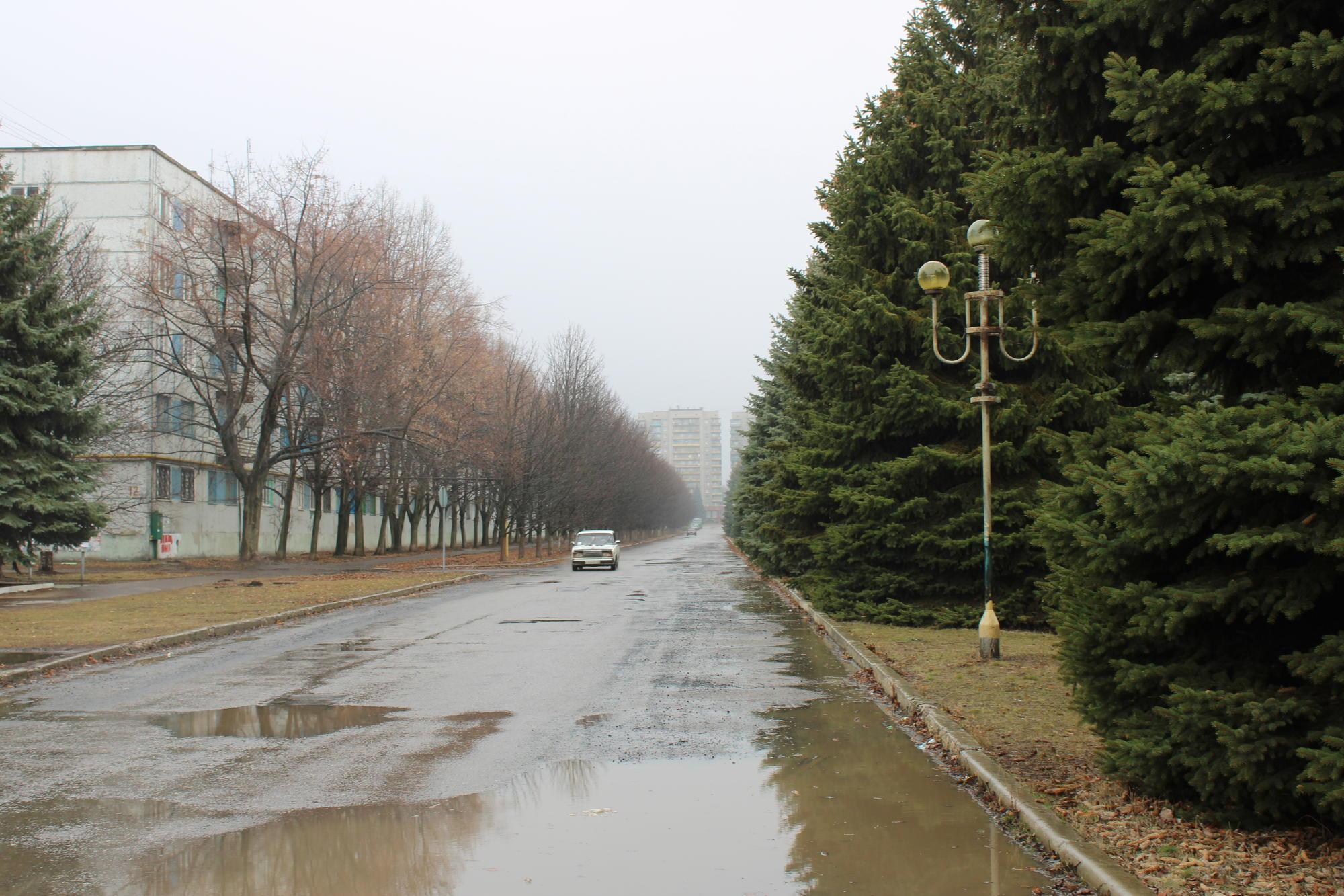 вулиця у Світлодарську