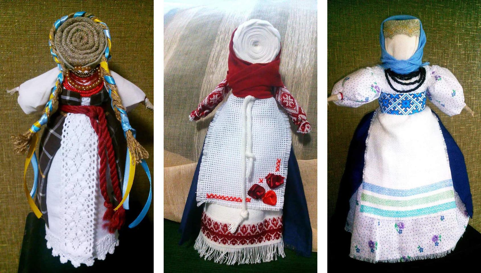 Куклы-мотанки бахмутской мастерицы Елены Лавренко