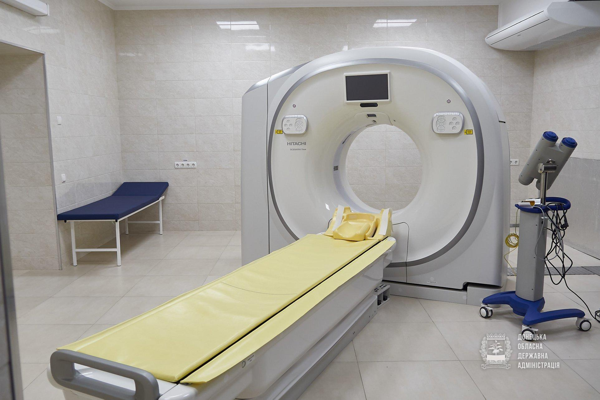 В 9 містах Донеччини з'явилось нове обладнання, яким можна сканувати легені, кістки та внутрішні органи (ФОТО)
