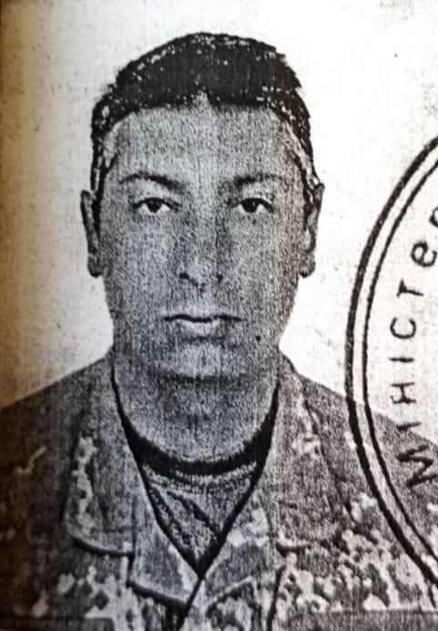 Військовий Сергій Барнич, який загинув на Донбасі 26 березня внаслідок обстрілу