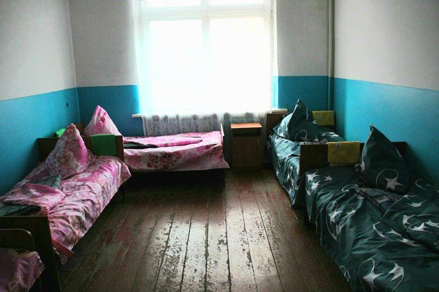 Палата для пациентов с коронавирусом в больнице под Торецком