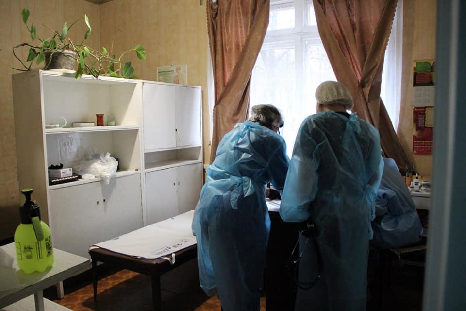 Терапевтичне відділення під Торецьком переробили на стаціонар для хворих з коронавірусом
