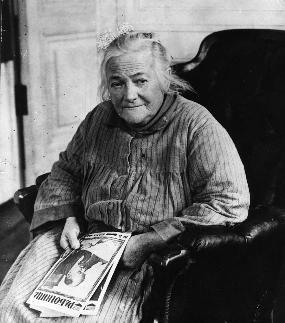 Клара Цеткин - выдающаяся немецкая коммунистка