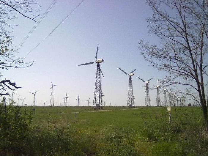 Новоазовська ВЕС вітряки на Донеччині