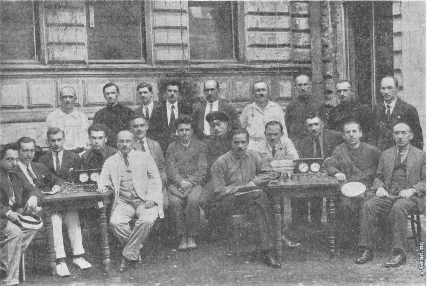 Борис Верлінський серед шахістів Одеси