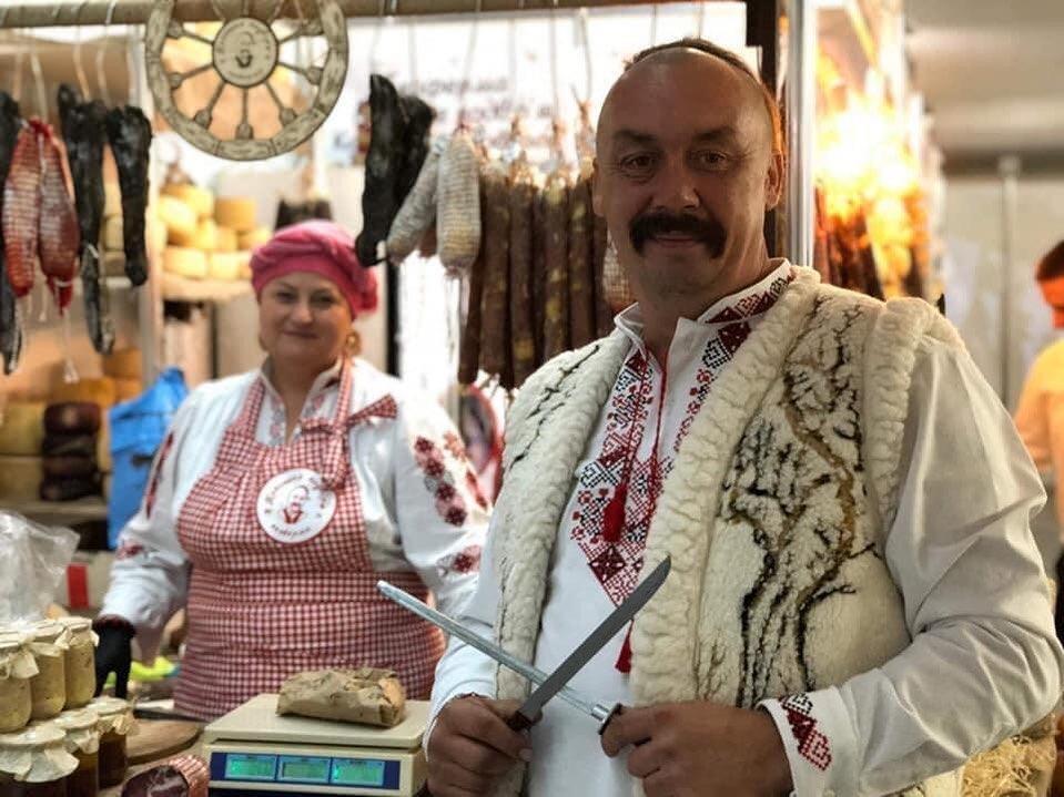 Сергій Свириденко на Козацькому подвір'ї