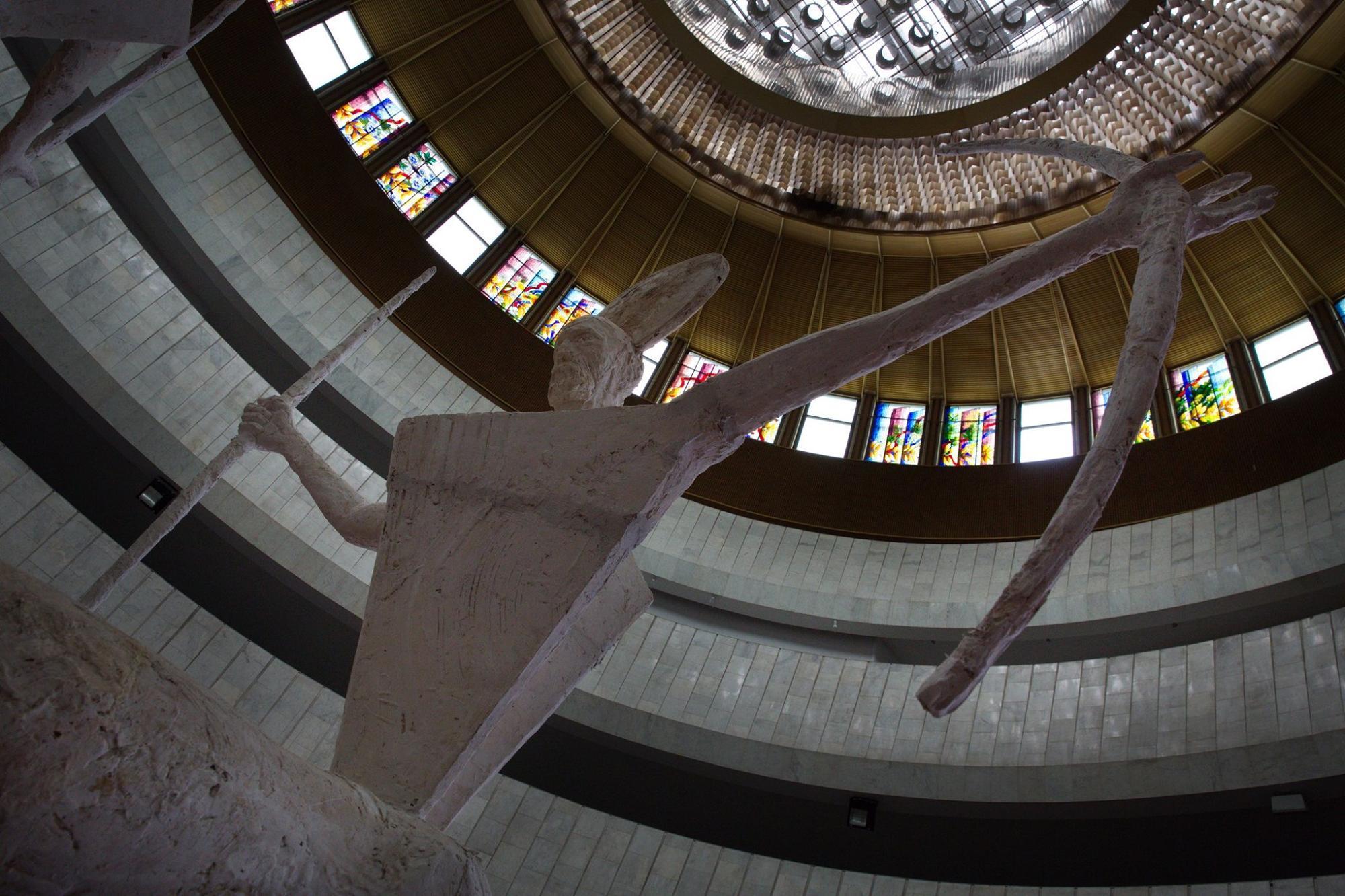 скульптура Петра Антипа в Украинском доме