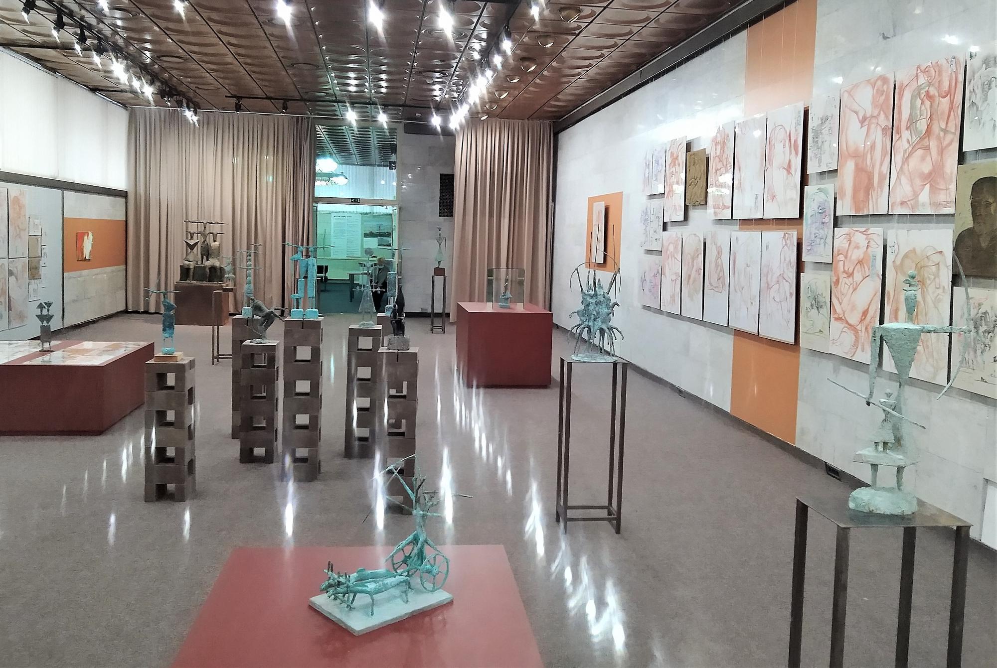 виставка Петра Антипа в Українському домі