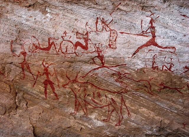 наскельний малюнок у Лівії