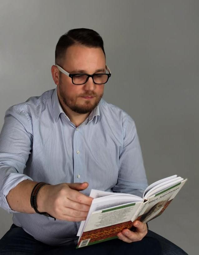 психолог Тарас Нестеренко з Києва