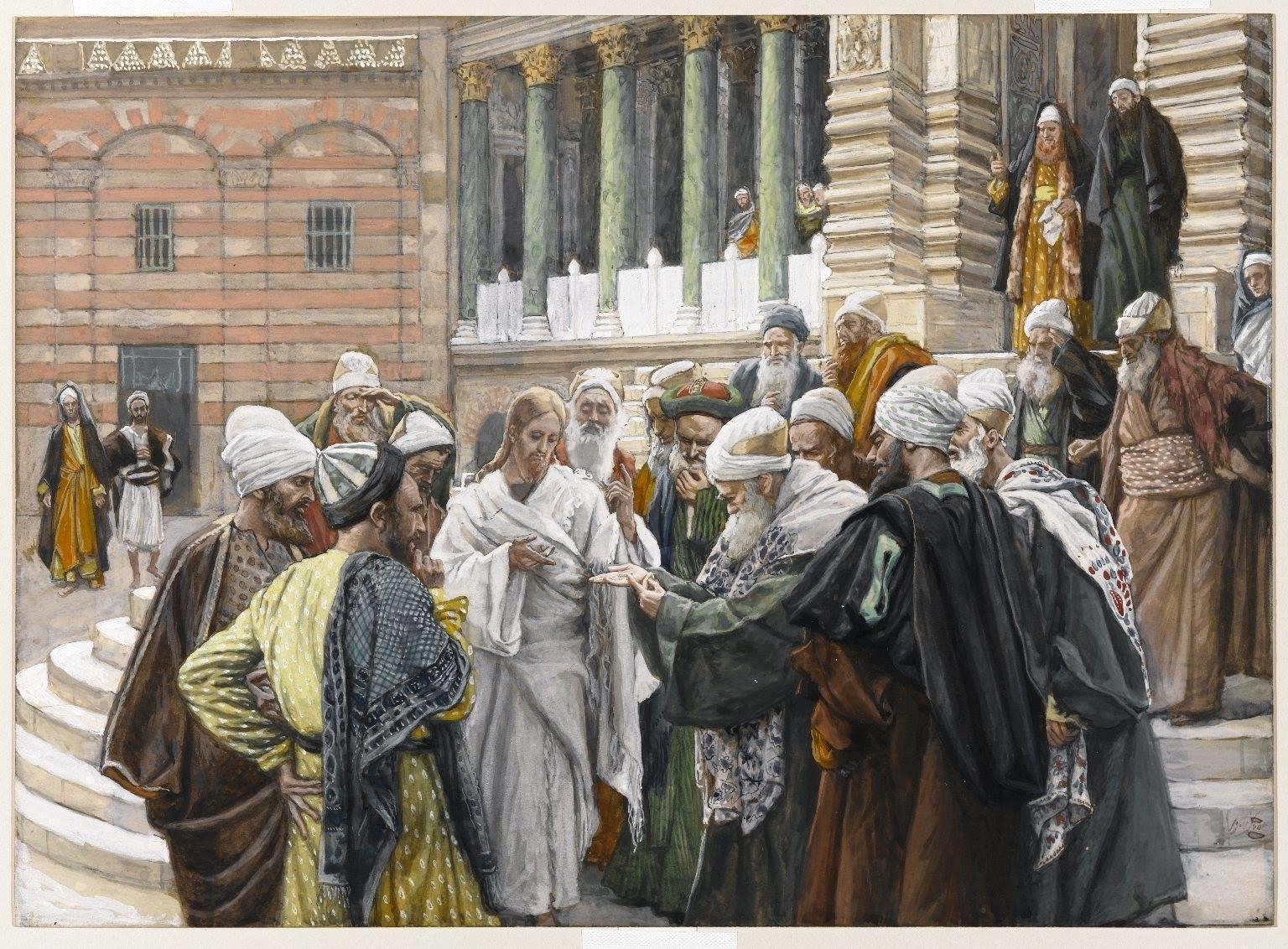 Притча про Ісуса та динарій