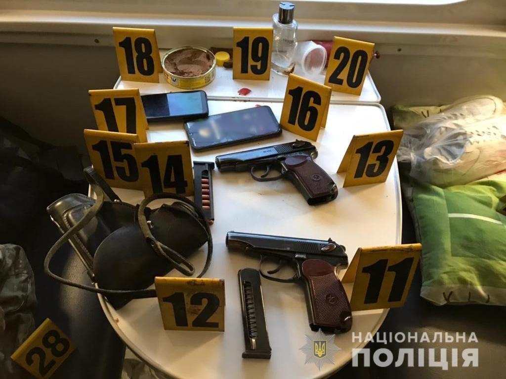 стрельба в поезде Константиновка-Киев