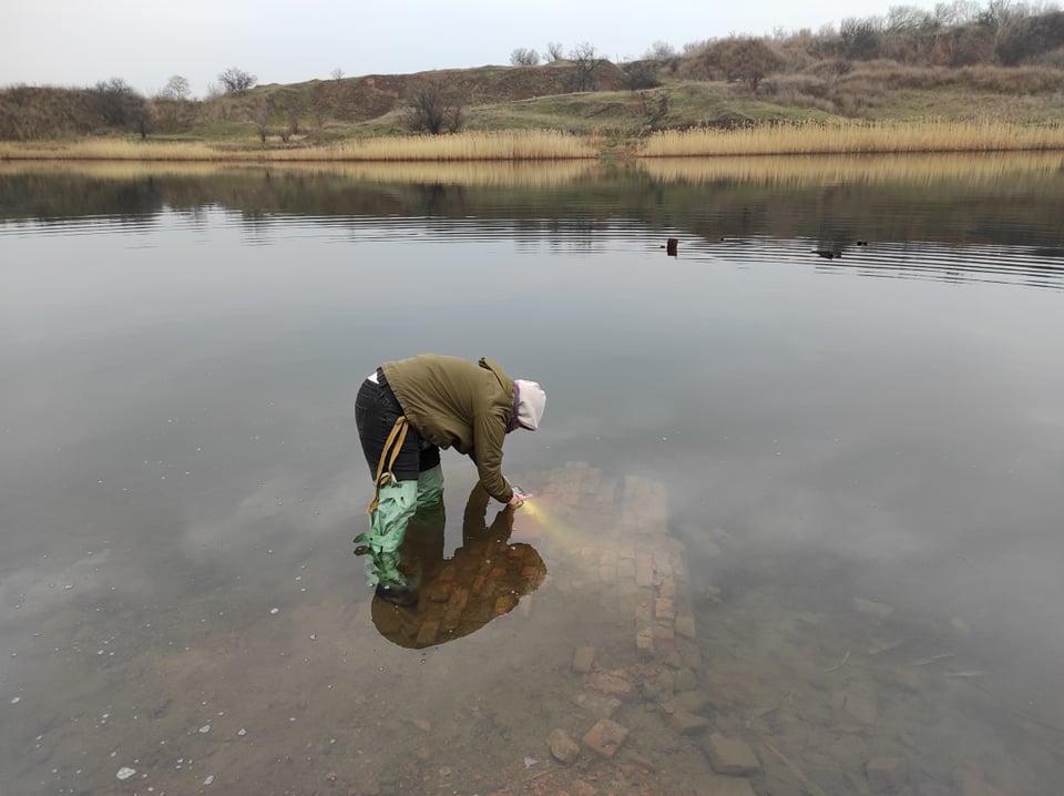 В Соледарській ОТГ зняли фільм про озера, під якими колись були шахти