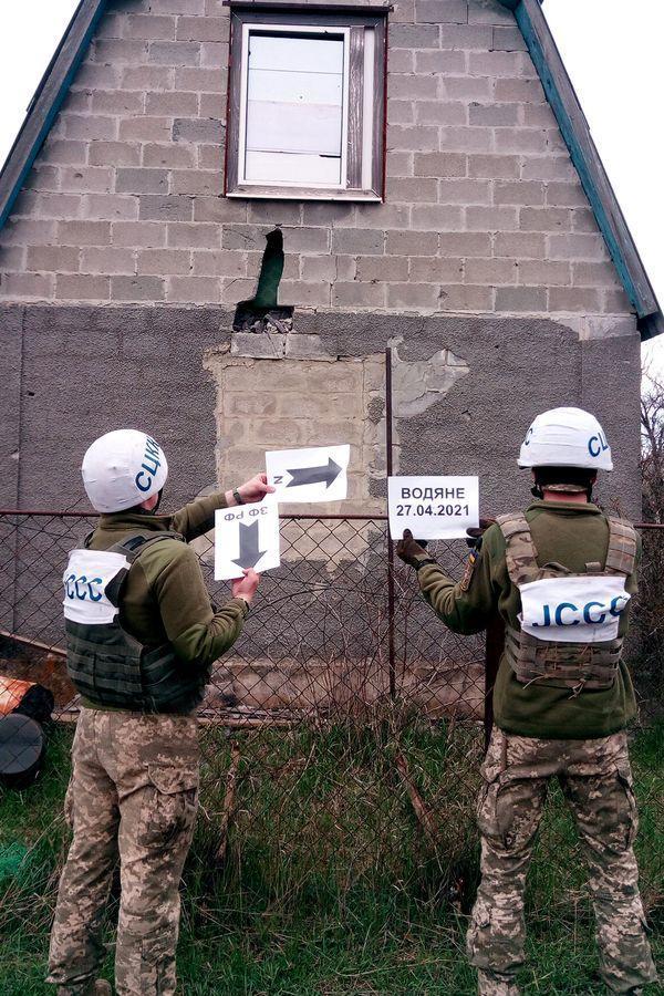 Боевики снова обстреляли села Приазовья