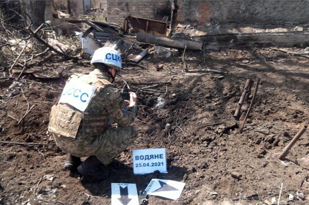 Боевики обстреляли Водяное на Донетчине