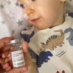 Бахмутському малюку з генетичною хворобою безкоштовно зробили рятівний укол за 2,3 млн дол (ФОТО, ВІДЕО)