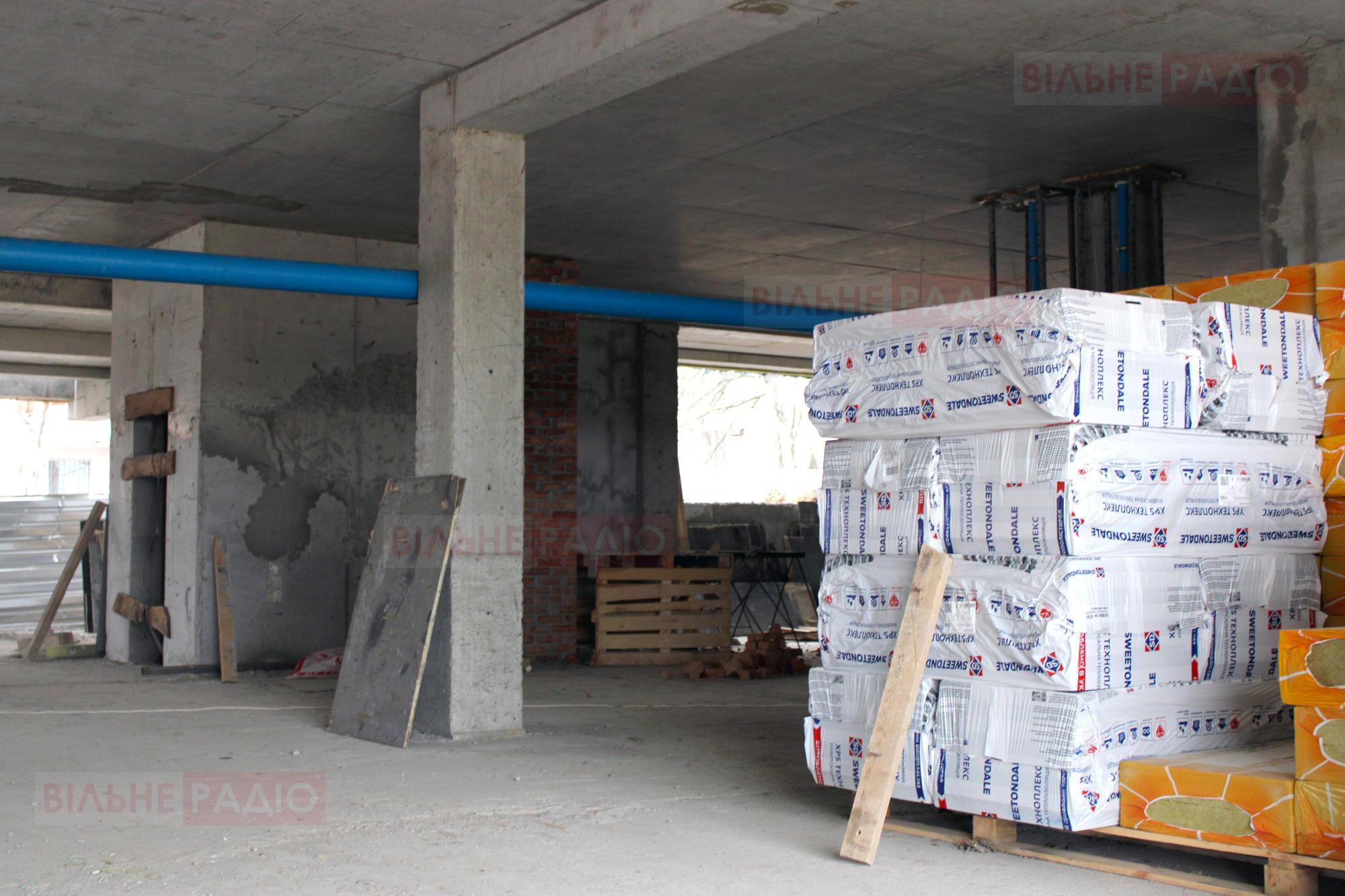 В Бахмуте продолжают строить ЦПАУ