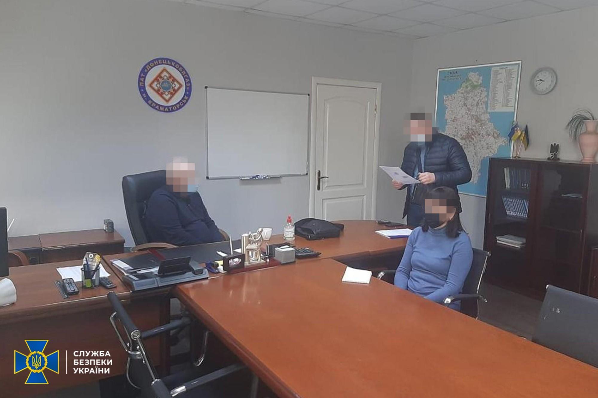 """У """"Донецькоблгазі"""" розкрадали газ, нанісши до 650 млн грн збитків"""