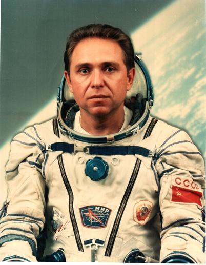космонавт з Горлівки Олександр Волков