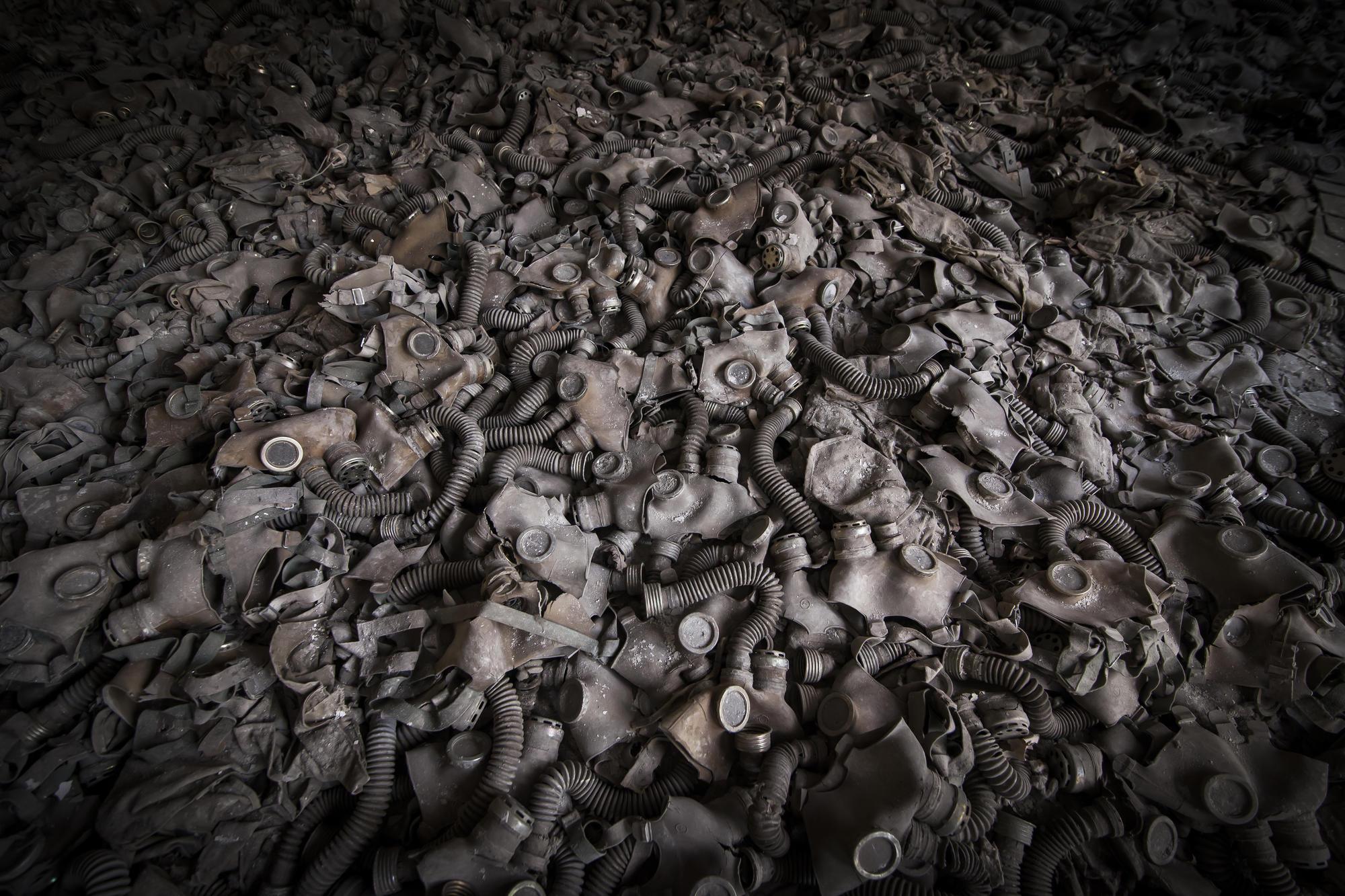Протигази в Чорнобилі