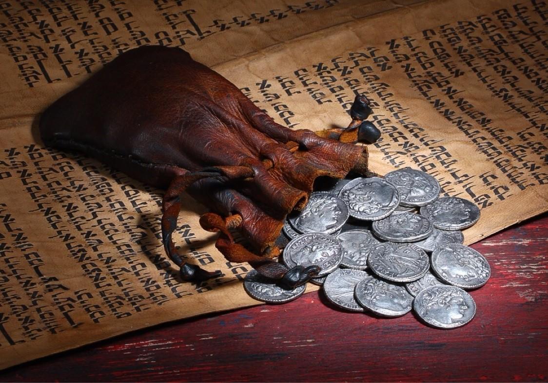 30 срібняків, за які Іуда зрадив Христа