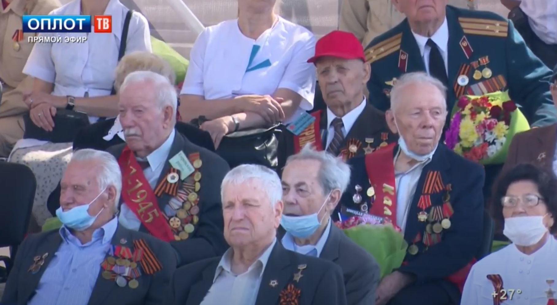 парад 9 мая в Донецке 2020