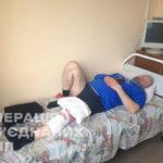 На Донбасі 120-мм міна влучила в будинок, поранений господар (фото)