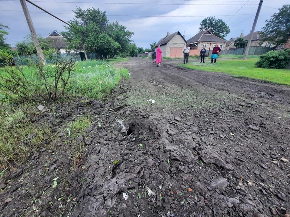 Оккупанты обстреляли дома мирных жителей Пивничного