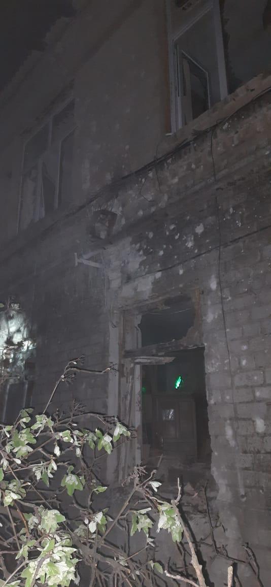 Донетчине от обстрелов боевиков пострадала больница