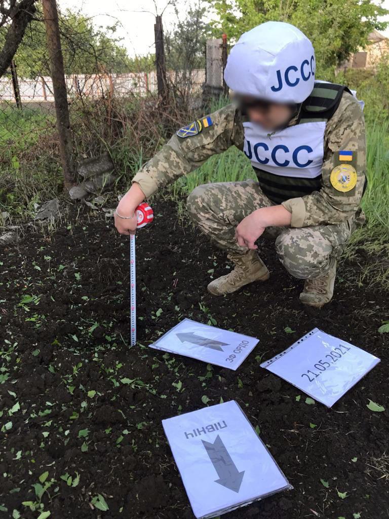 Оккупанты обстреляли несколько домов в Марьинке Донецкой области