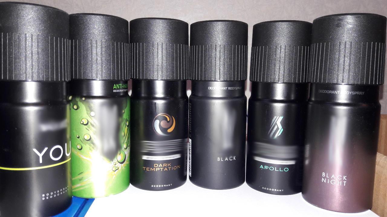 В Мариуполе за долги продали 6 мужских дезодорантов