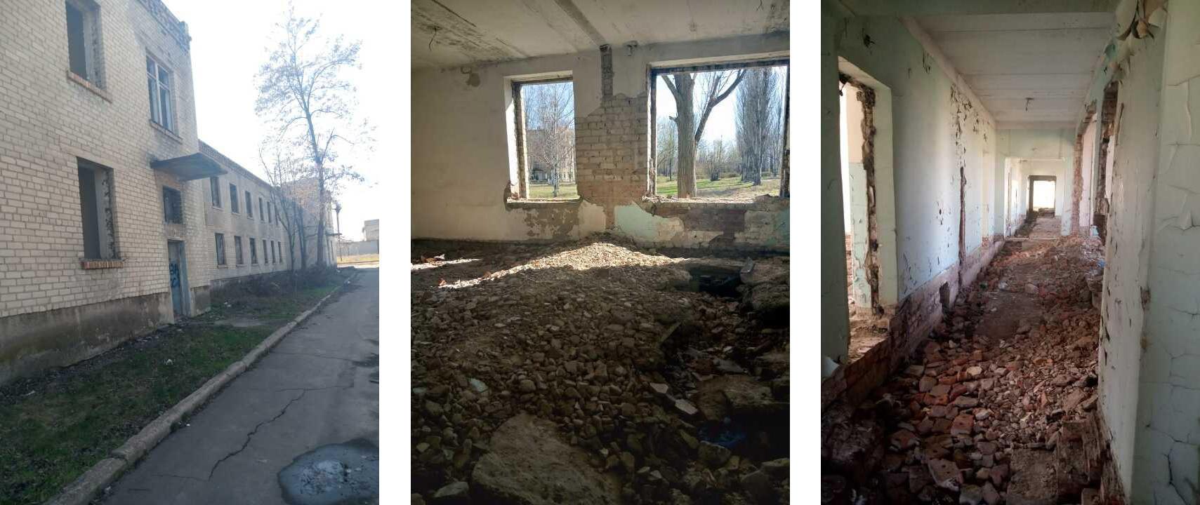 У Мирнограді з молотка пустили занедбаний корпус лікарні