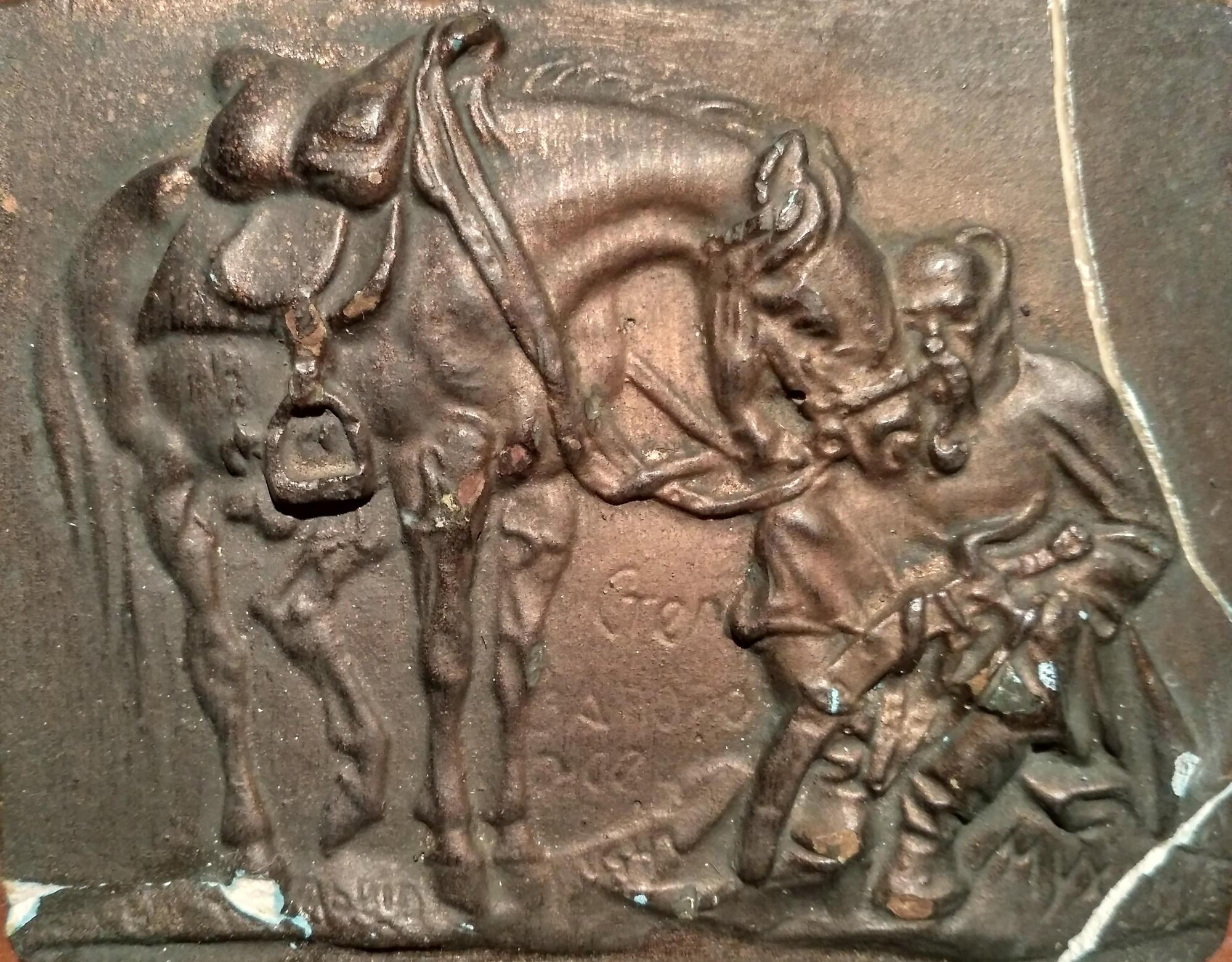 скульптура запорожець у степу Мухіна