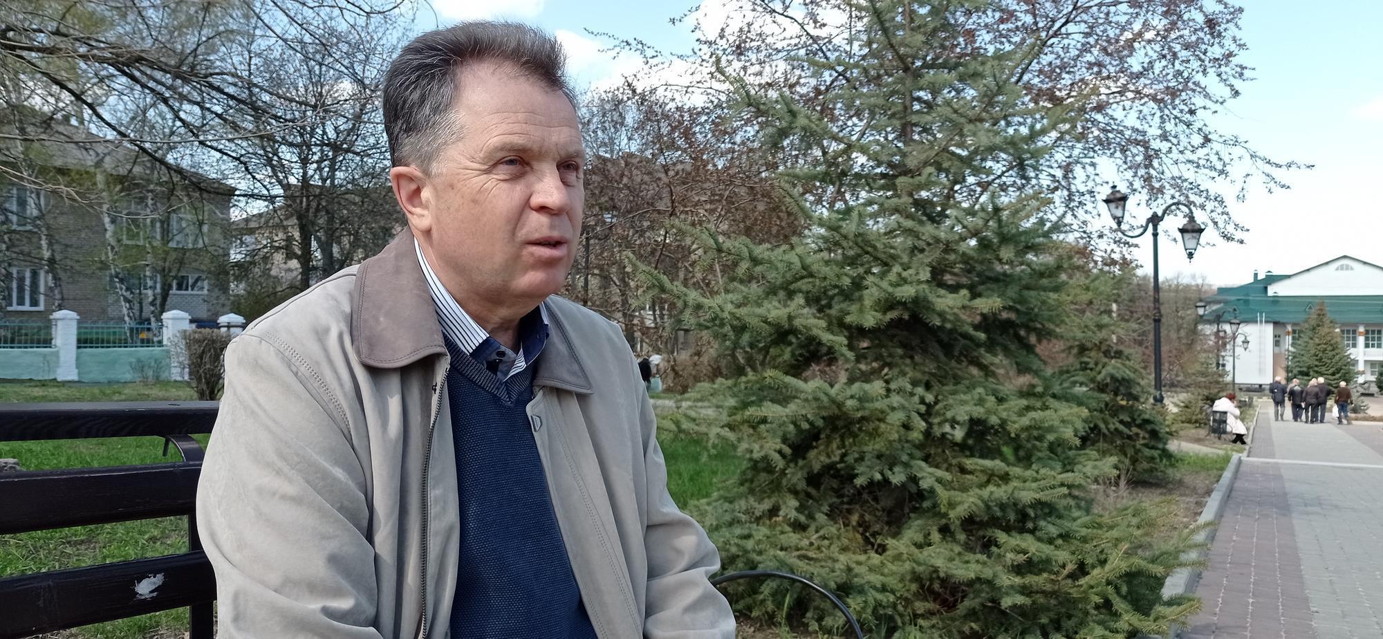 Борис Іщенко ліквідатор з Бахмута