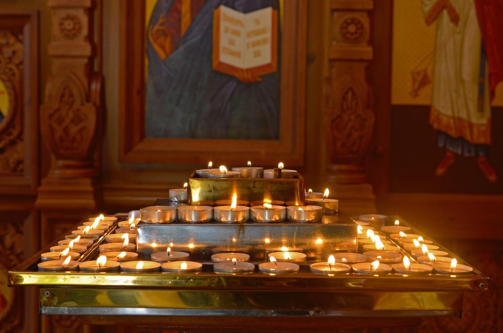 Божественная литургия в украинских церквях