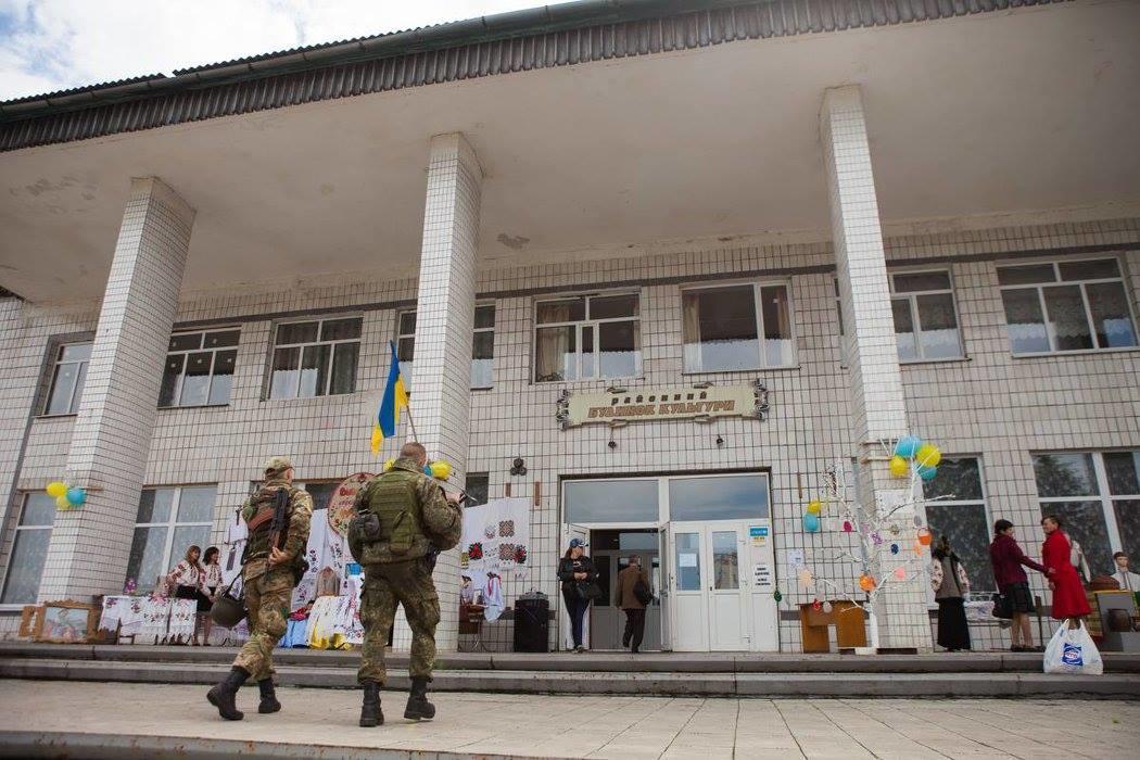 дворец культуры в Марьинке