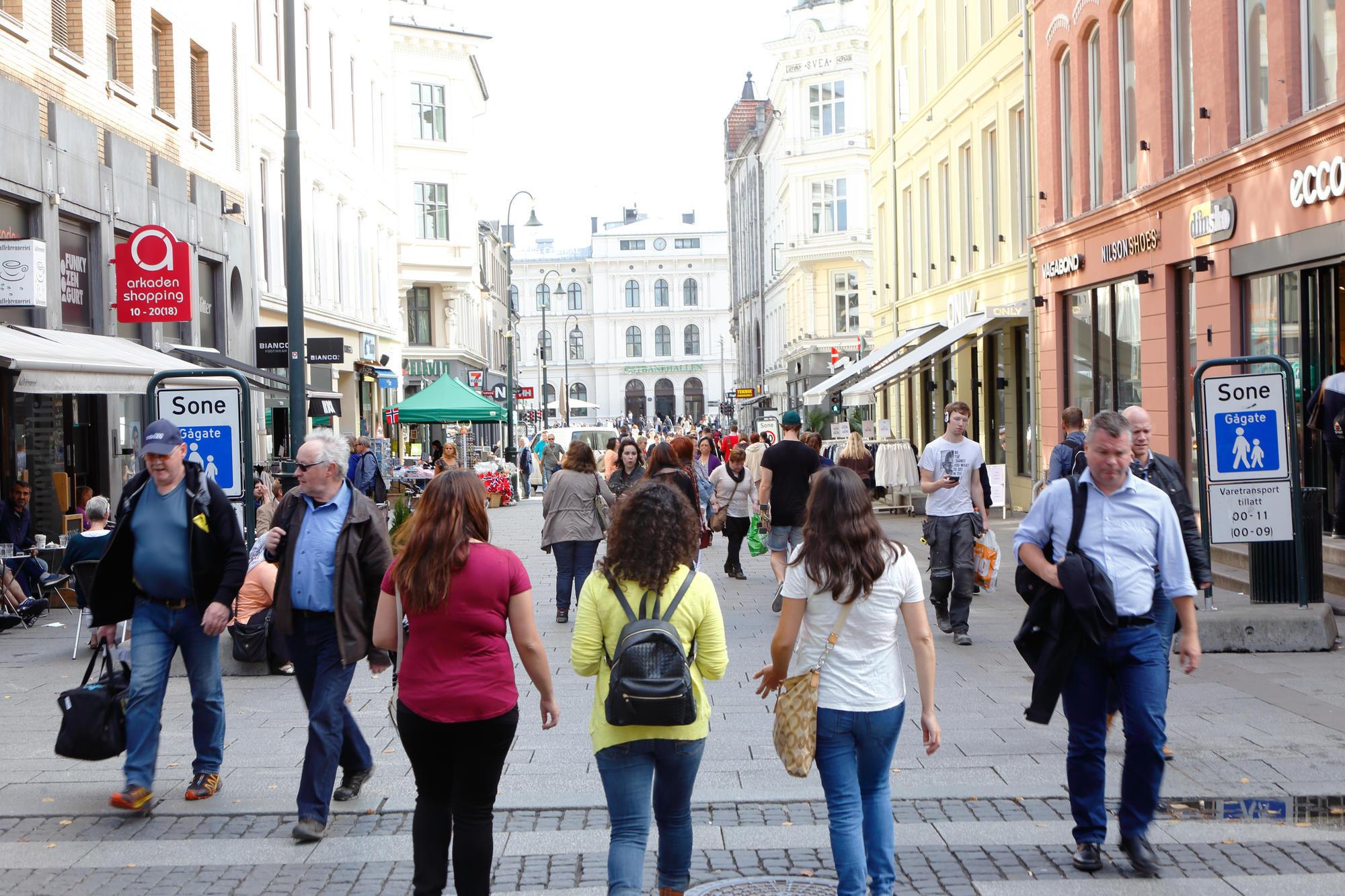европейцы на улицах города