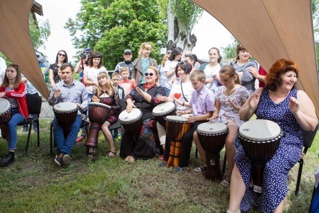 Фестиваль грузинской культуры в селе Анновка на Донетчине