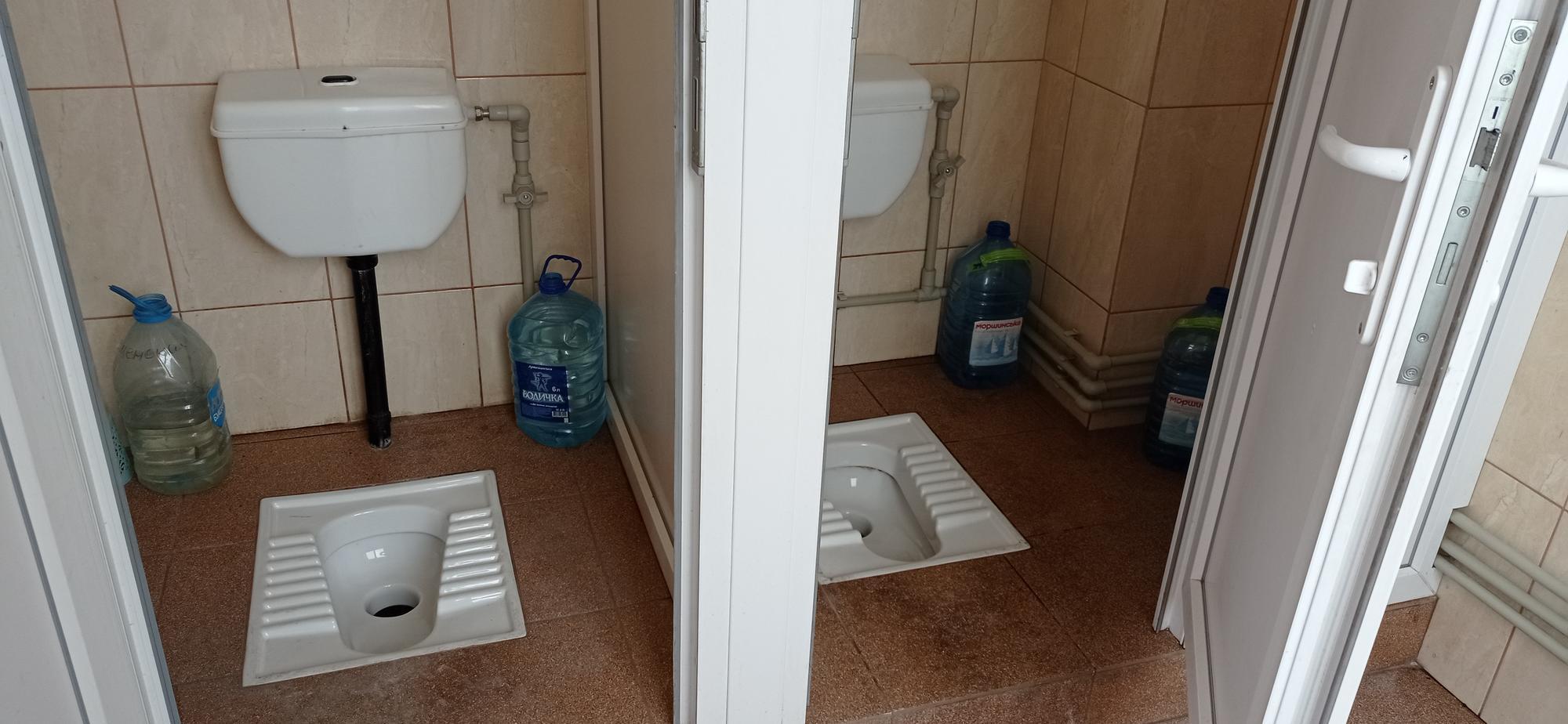 туалет у Свято-Миколаївському храмі