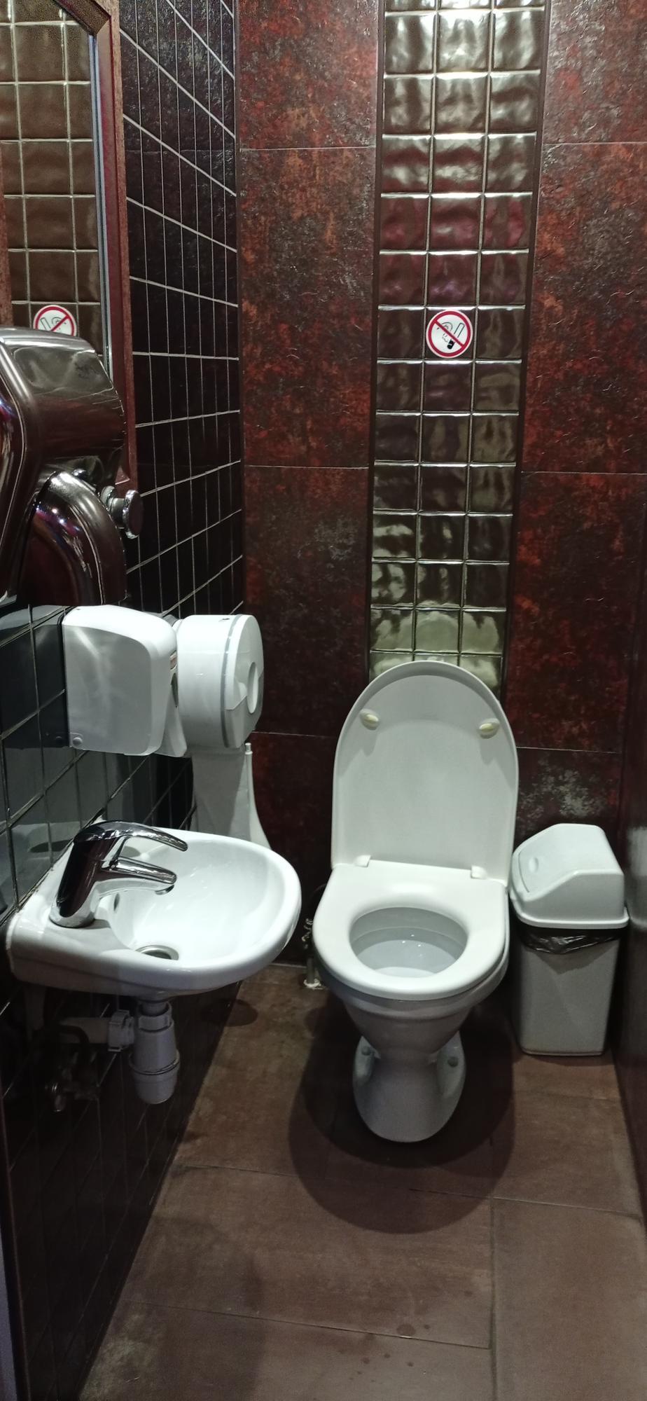 туалет в Нью-Йорк стріт піцці в Бахмуті