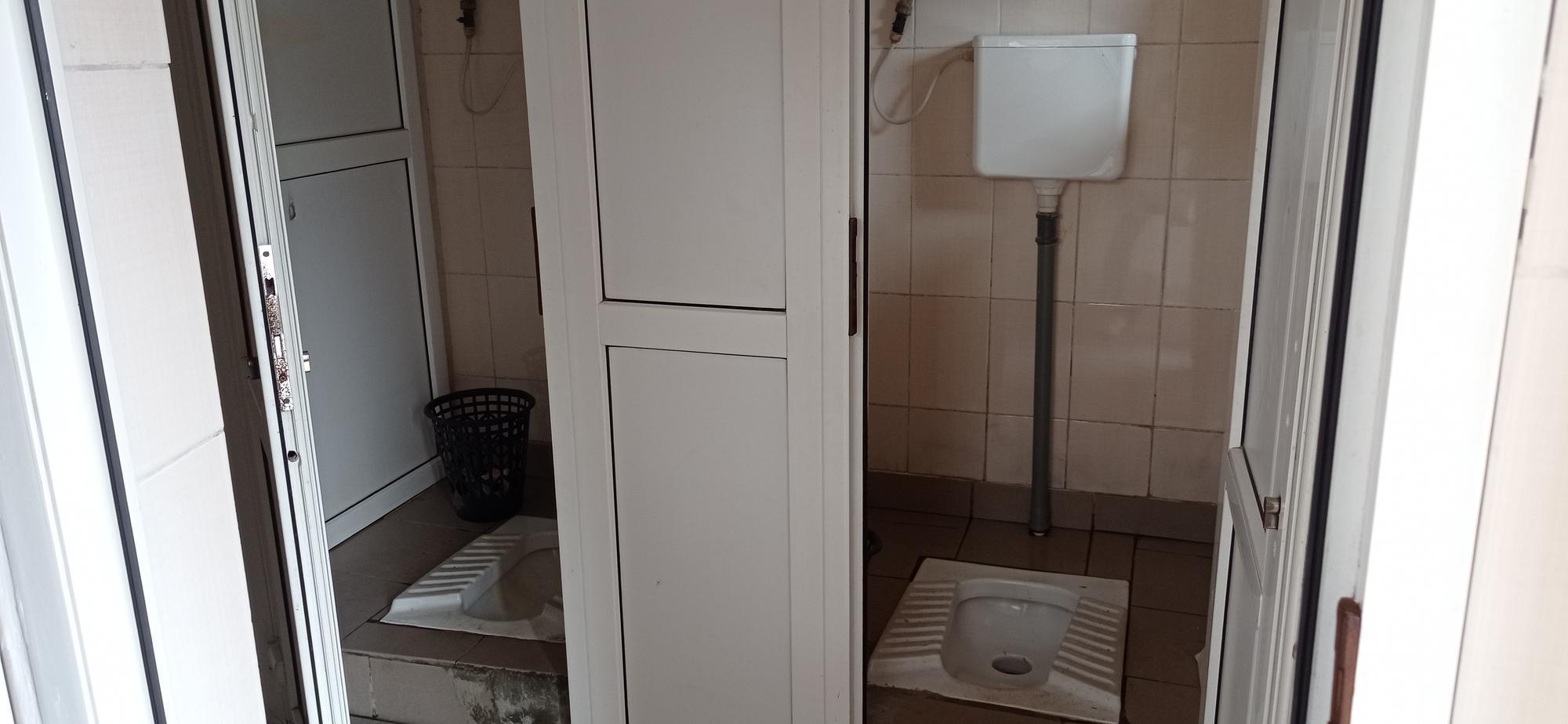 туалет на ж/д вокзале Бахмута